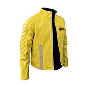TASHCO ClothingYellow Faux Leather Jacket