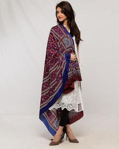 Multi Color Sindhi Ajrak Sl-006