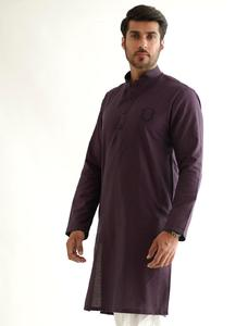 Bonanza Satrangi DARK BROWN Kameez Shalwar For Man