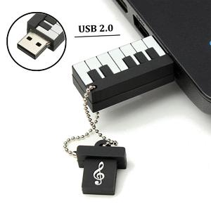 64GB USB 2.0 Elegant Piano Model Flash Memory Stick Storage Thumb Pen Drive Gift