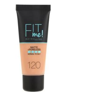 Maybelline Fit Me Matte & Poreless Foundation 120 Classic Ivory