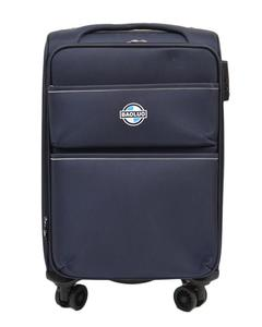 Asaan Parhai 4 Wheels (Free Moving Wheels) Travel Suitcase Trolley Good Quality - 20 Inch Height - Blue
