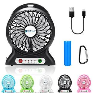 Portable Handheld Rechargeable Mini USB Fan Air Cooler Portable LED Light Fan Air Cooler Desk USB Fan Third Wind Battery