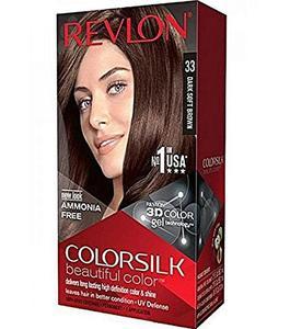 Color Silk 3D Technology Usa For Men & Women #33 Dark Soft Brown