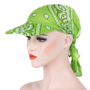 Creative Fashion Printed Women's Summer Sun Cap Cloth Kerchief Headscarf Hat