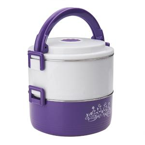 Hawthorn 2 Layer Stainless Steel Portable Insulation Thermal Lunch Box