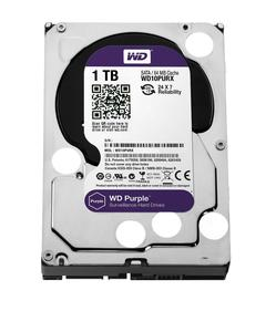 WD Purple Surveillance 1TB 3.5 inch HDD Hard Disk Drive for NVR Desktop Internal SATA 64MB Cache