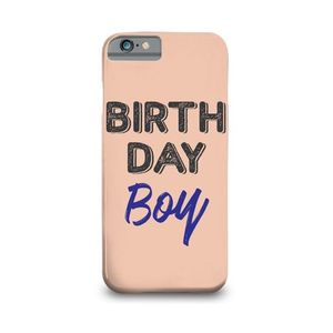 Birthday Boy Printed Mobile Cover (Samsung S7)