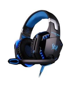 G2000 - Gaming Headset With Mic For PC,PS4,Xbox One Over-Ear Headphones - Black And Blue