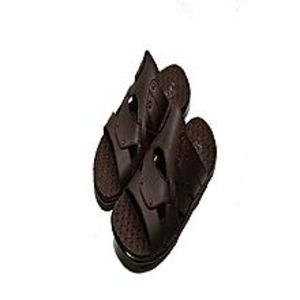 Lavish FashionBrown Rubber Slipper For Men