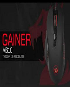 Redragon 2.4GHz Wireless mouse M610 -2000 DPI (1000/1500/2000DPI), 4 Function Buttons, Nano USB Receiver, Avago power-efficient infrared engine