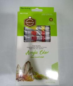 Acrylic Colour - Pack Of 12