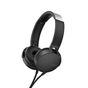 SonyHeadphone Extra Bass - Black - Mdr-Xb550Ap
