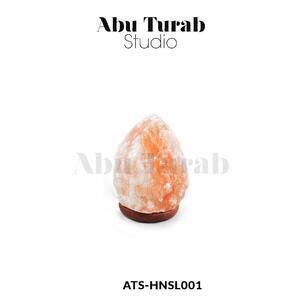 Himalayan Natural Salt Night Lamp - Natural Table Lamp - Hand Crafted Salt Lamp - Salt Night Light Lamp - Real Himalayan Salt Lamps | Abu Turab Studio