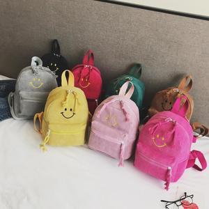 Children Bag Fashion Smiley Parent-Child Backpack Cute Backpack Cute School Bag
