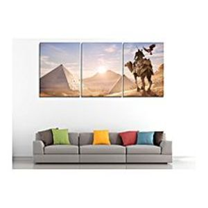 The Warehouse set of 3 Assassins Creed Origins canvas frames