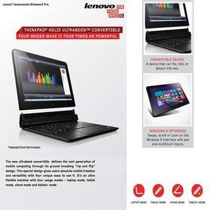 Helix 36984SU 11.6-Inch Convertible 2 In 1 Touchscreen Ultrabook (2 GHz Intel Core I7-3667U Processor, 8GB DDR3, 256GB SSD,