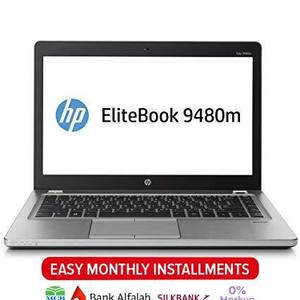 HP EliteBook Folio 9480m Refurbished Laptop - 14 - Core i5 4310U - 4 GB RAM - 320 GB HD WebCam