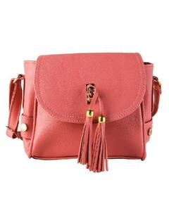 Pink Cross Body Ladies Hand Bag