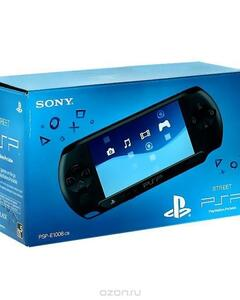 Sony PSP - Charcoal Black 8 GB DUO PRO + 10 Games with Memory Card - Black