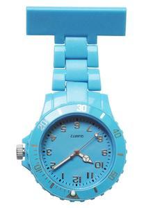 Stainless Steel Metal Nurse Watch Brooch Tunic Fob Watch FREE BATTERY
