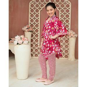 SITARA STUDIO Sapna lawn Collection Multicolor Lawn 2PC Unstitched Suit For Women - 6140 A (Un-stitched)