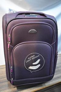 Purse House Light Weight Travel Luggage Bags Purple ( 28 inch)