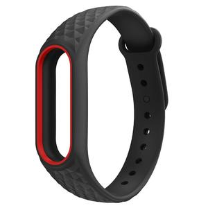Soft TPU Silicone Bracelet Strap Wristband Replacement for Xiaomi Mi Band 2