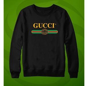 Black Printed Sweatshirts