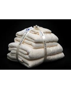 Alkaram Towel 6 - Piece Towel Set Cream