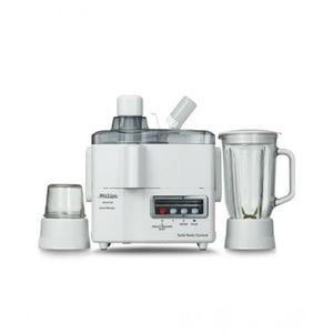 Philips HR 1847 - 3 in 1 Juicer, Blender & Mill - White