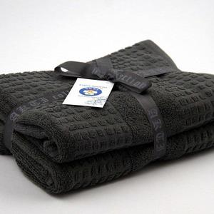 Alkaram Towel 2 - Piece Bath Towel Set Grey