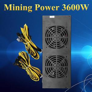 200-260V 3600W Mining power Supply Four Fans For A6 A7 s5 s7 B3 E9 L3+ R4 Miner