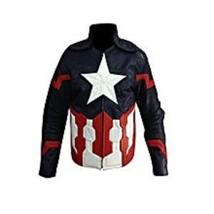 TASHCO ClothingCaptain America Leather Jacket