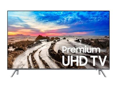 Samsung Mu7000 - Smart 4K UHD Led Tv - 43 Inches - 7 Series - Resolution: 2160p - Black (With 1 Year Warranty)