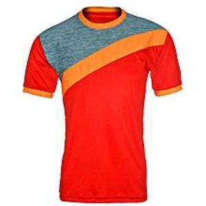 SFRHalf Sleeves T Shirt Gym Workout Dri Fit Round Neck Shirt