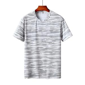 Rainbowroom Mens Summer Casual Printing T-shirt Fitness Sport Fast-Dry Breathable Top Blouse