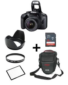 Pack Of 6 - Canon EOS 3000D with lens 18-55mm Screen Protectoe Lens Hood Bag 16GB Card Lens Filter