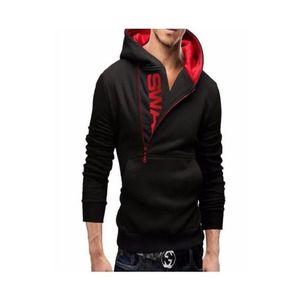Black Fleece Winter Swag Hoodie For Men