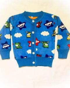 Winter Collection Little Star Sweater for Kids Blue