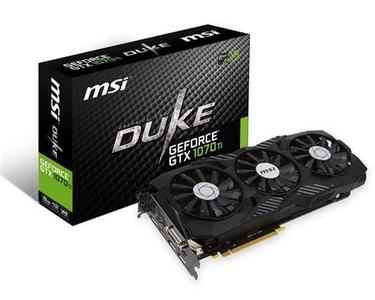 Geforce GTX 1070Ti  Duke  8GB GDDR5 Graphic Card