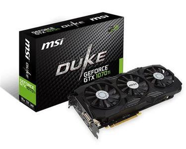 Geforce GTX 1070Ti  Duke  8GB GDDR5 Graphic Card