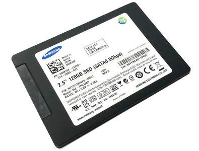"""Samsung 830 Series MZ-7PC128D 128GB MLC SATA III (6.0Gbps) 2.5"""" Internal SSD Hard Drive"""