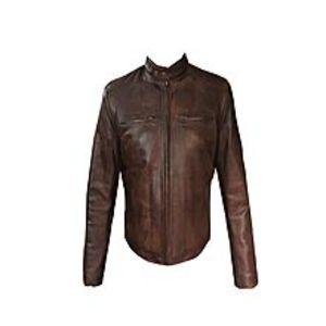 TASHCO ClothingBrown Genuine Leather Jacket