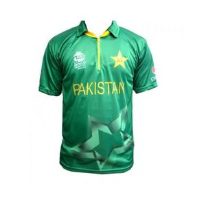 HA ICC World Cup T20 2016 - Official Pakistan Cricket Jersey - Green