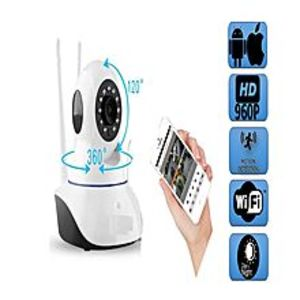 V380HD IP Wi-Fi Camera - 960P - 360 - Night Vision - Microphone - Speaker - 2 way audio - Motion Alarm