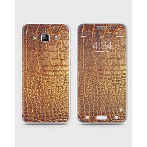 Samsung Galaxy J3 Pro Skin Wrap With Front Back And Sides in SNAKE LOOK Stlye-1wall57