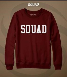 Squad Printed Sweatshirt