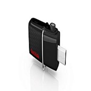 SanDisk Ultra Dual USB Drive 3.0 - 128GB - Black
