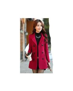 Red Ladies Coat for Winter